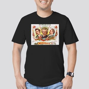 Humorists Cigar Label Men's Fitted T-Shirt (dark)