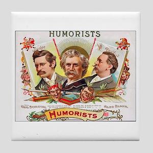 Humorists Cigar Label Tile Coaster