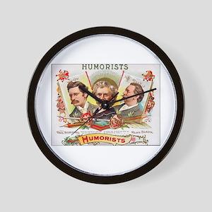 Humorists Cigar Label Wall Clock