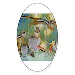 The Fairy Circus Sticker (Oval 50 pk)