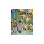 The Fairy Circus Sticker (Rectangle 10 pk)