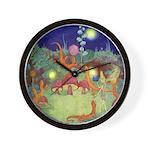 The Fairy Circus Wall Clock