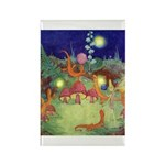 The Fairy Circus Rectangle Magnet (100 pack)