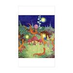 The Fairy Circus Sticker (Rectangle 50 pk)