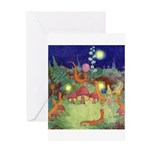 The Fairy Circus Greeting Card