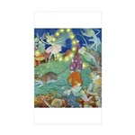 The Fairy Circus Sticker (Rectangle 50 pk)
