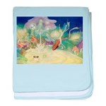 The Fairy Circus baby blanket