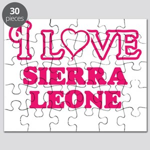 I love Sierra Leone Puzzle