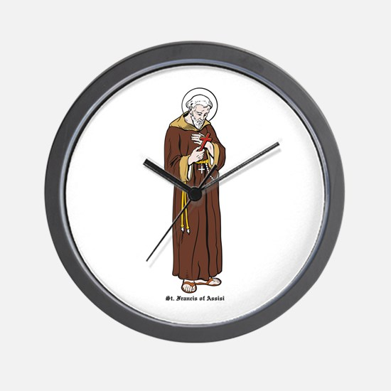 St. Francis of Assisi Wall Clock