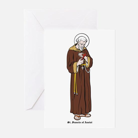 St. Francis of Assisi Greeting Cards (Pk of 10