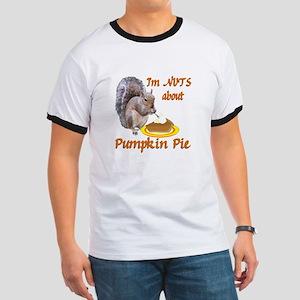Pumpkin Pie Squirrel Ringer T