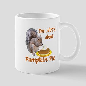 Pumpkin Pie Squirrel Mug