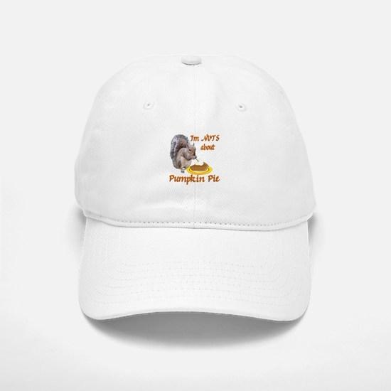 Pumpkin Pie Squirrel Cap