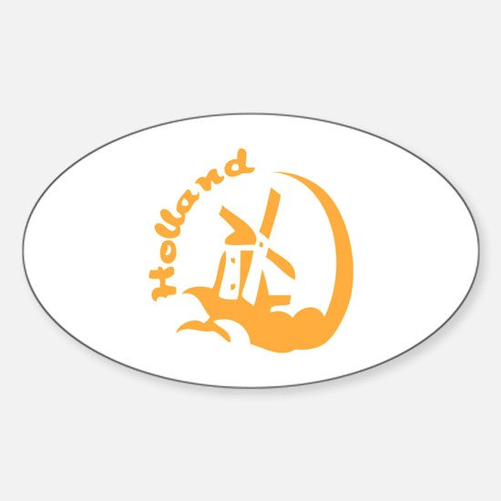 Holland Sticker (Oval)
