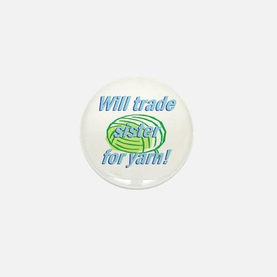 Trade Sister Mini Button