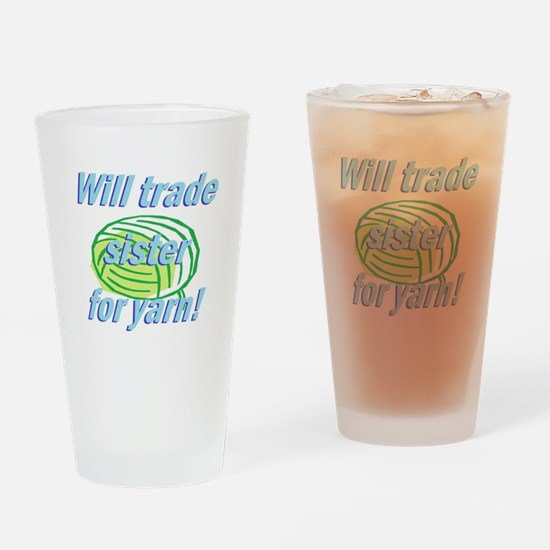 Trade Sister Drinking Glass