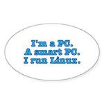 I'm a PC Sticker (Oval 10 pk)