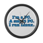 I'm a PC Large Wall Clock