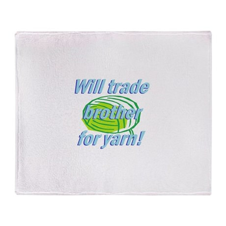 Trade Brother Throw Blanket