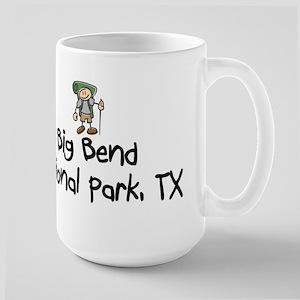 Hike Big Bend Nat Park (Boy) Large Mug