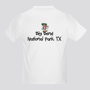 Hike Big Bend Nat Park (Girl) Kids Light T-Shirt