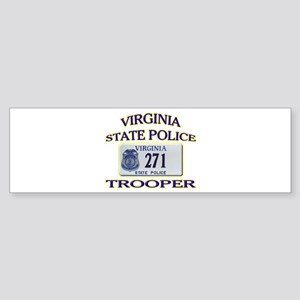 Virginia State Police Sticker (Bumper)