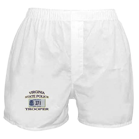Virginia State Police Boxer Shorts
