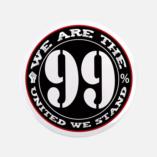 """We Are The 99% United We Stan 3.5"""" Button"""