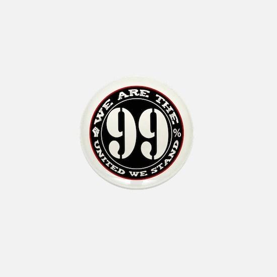 We Are The 99% United We Stan Mini Button