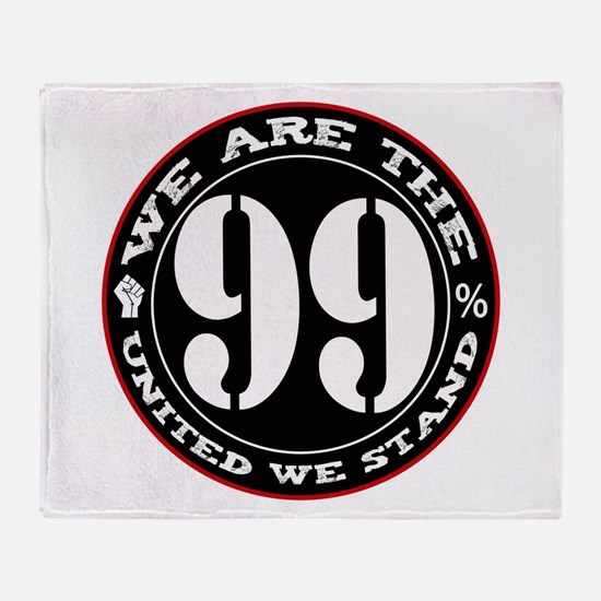 The 99% United We Stand Throw Blanket