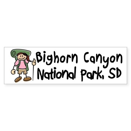 Bighorn Canyon Nat Park (Girl)