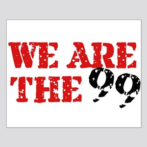 We Are The 99 Small Poster