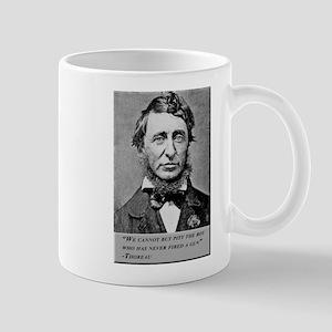 Thoreau on Guns Mug