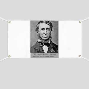 Thoreau on Guns Banner