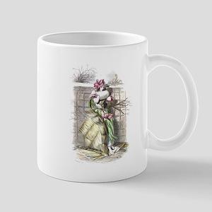 The Peach Flower Mug