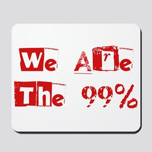 We Are The 99% #2 Mousepad