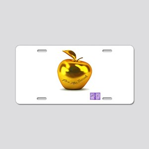 Eris' Apple Aluminum License Plate