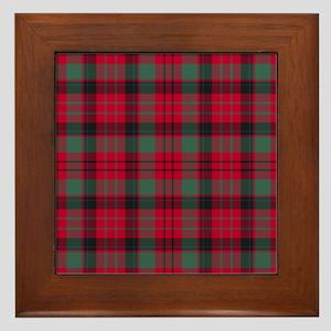Tartan - MacNicol Framed Tile