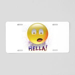 Hella! Aluminum License Plate