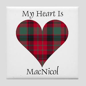 Heart - MacNicol Tile Coaster