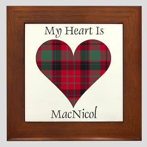 Heart - MacNicol Framed Tile