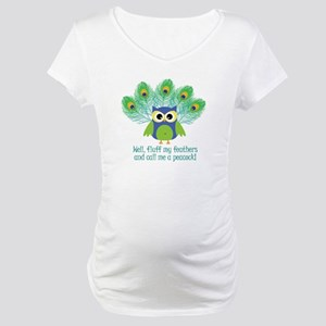Fluff My Feathers Maternity T-Shirt