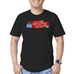 Can't Be Christian Capitalist Men's Fitted T-Shirt