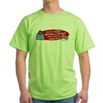 Can't Be Christian Capitalist Green T-Shirt