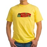 Can't Be Christian Capitalist Yellow T-Shirt