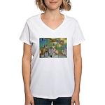 The Fairy Circus Women's V-Neck T-Shirt