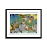 The Fairy Circus Framed Panel Print