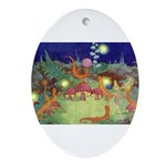 The Fairy Circus Ornament (Oval)
