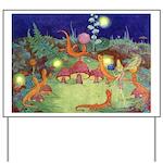 The Fairy Circus Yard Sign