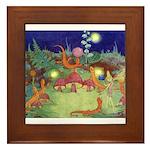 The Fairy Circus Framed Tile